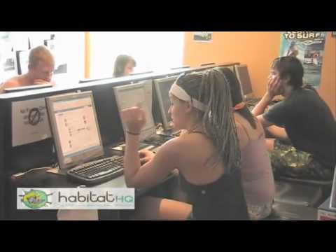 Melbourne Backpackers Accommodation   Youth Hostel Melbourne   Habitat HQ.flv