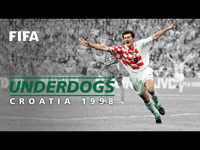 Croatia's Dream Debut | France 1998 | FIFA World Cup