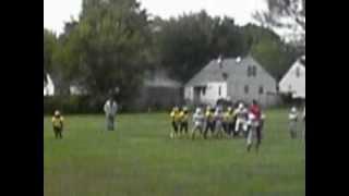 #3 Lil Speedy breaks a big run! 2012 85lb Midwest Bearcats