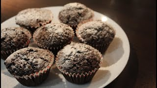 Шоколадні мафіни, як просто і швидко приготувати мафіни/Шоколадные маффины, как приготовить маффины
