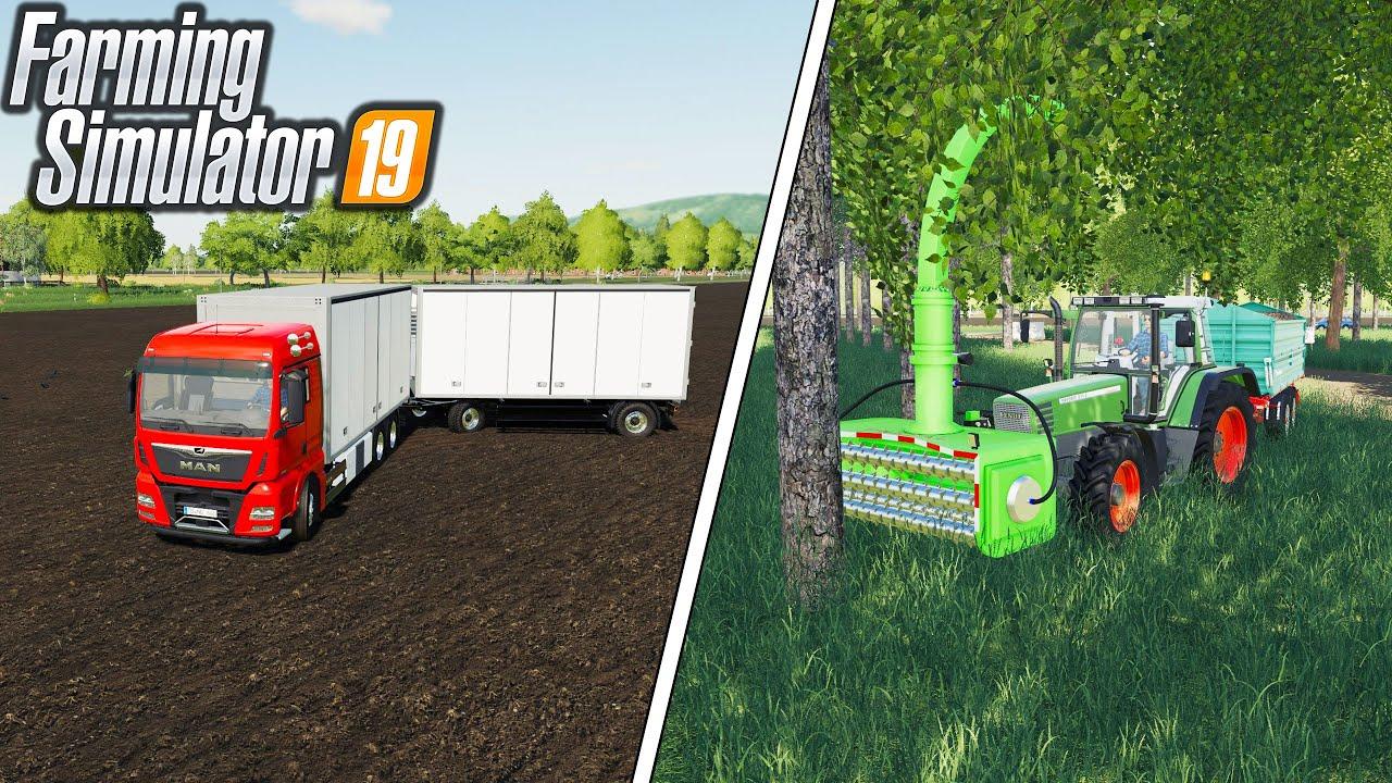 UNREAL TREE DEVOURER - BOX PACK - Farming Simulator 19 Mods #102 | Radex