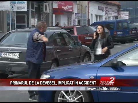 PRIMARUL DE LA DEVESEL, IMPLICAT ÎN ACCIDENT