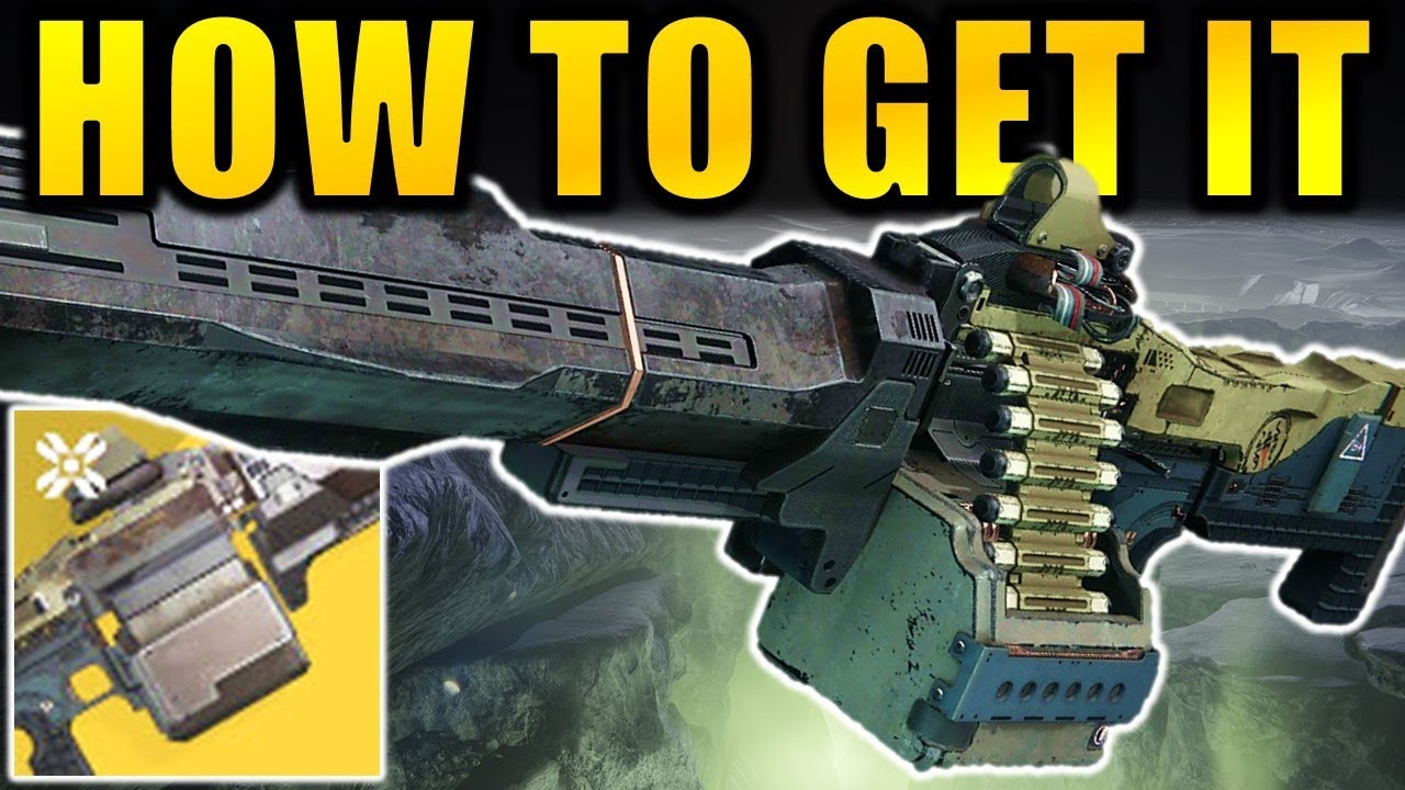 Destiny 2: How to Get the XENOPHAGE Exotic Machine Gun! | Shadowkeep