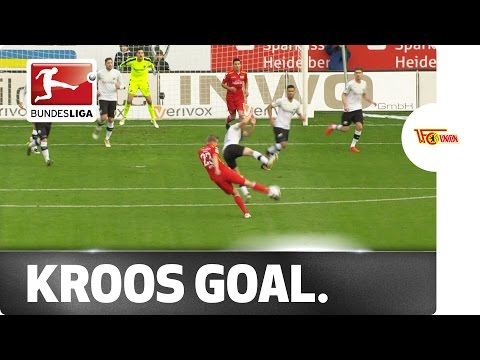Boom! Felix Kroos Scores A Goal Toni Would Be Proud Of