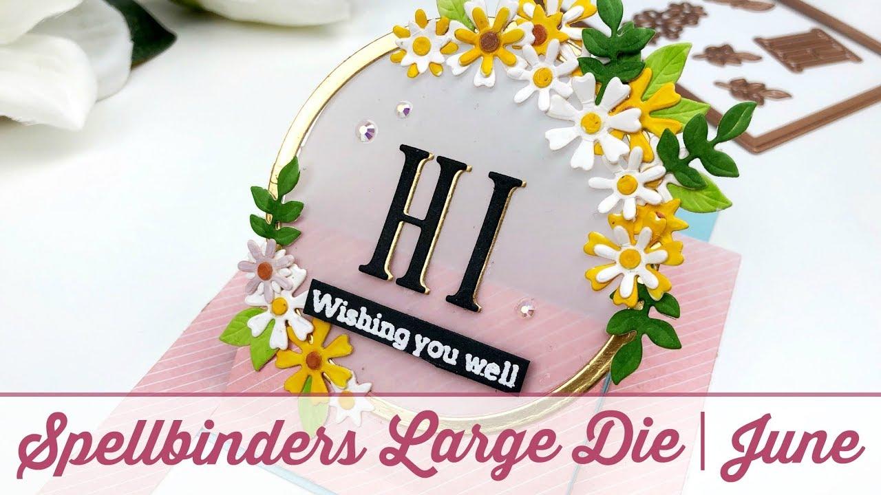 Spellbinders Large Die Of The Month June 2019
