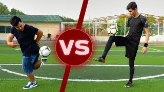 تحدي التصويب والمهارات ضد عبد الرحمن | تحدي الإنتقام!!! | Football Challenges