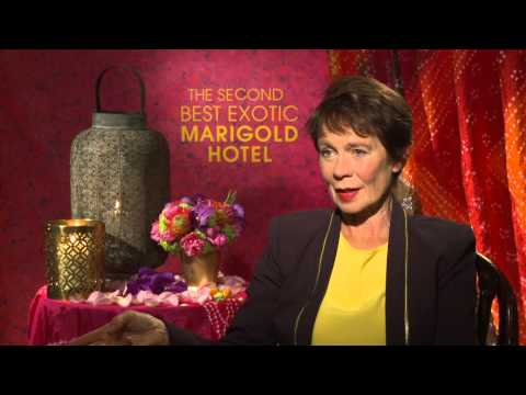 "The Second Best Exotic Marigold Hotel: Celia Imrie ""Madge Hardcastle"" Official Interview"