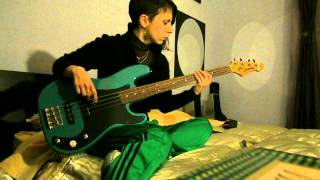 trapped in a corner-DEATH-fretless bass