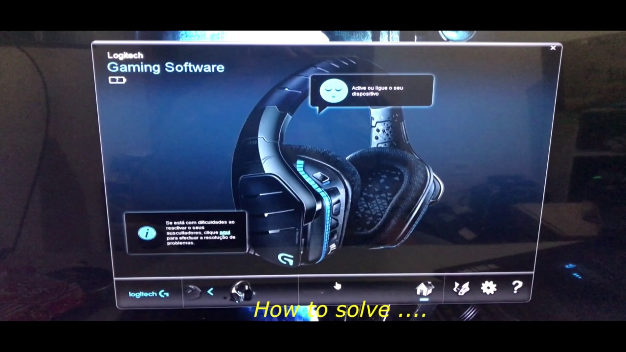 Logitech G933 Sleep Mode problem fixed below  Step 02