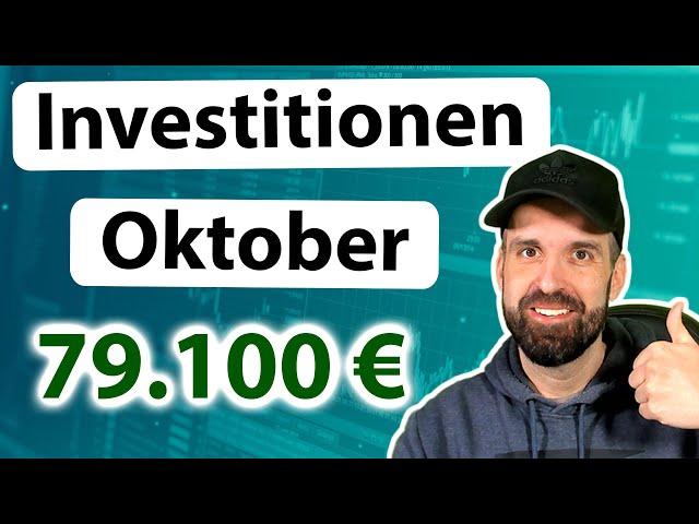 Meine Investitionen in Aktien, ETFs & Kryptos 📊 Oktober 2021