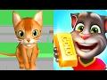 Talking Tom Gold Run VS CARTOON Cat Run / Cartoon Games Kids TV
