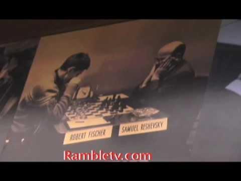 Bobby Fischer Exhibit Chess Hall Fame
