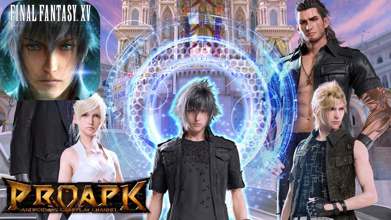 Final Fantasy XV: A New Empire Gameplay Android / IOS