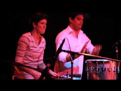 Namorados da Lua feat. Papiba of Sambadá at the New Parish, Jan 10, 2014, Oakland, CA