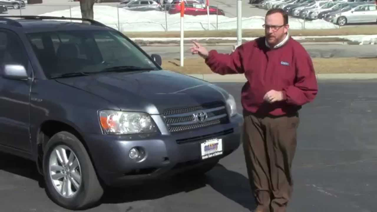 Used 2006 Toyota Highlander Hybrid 4WD for sale at Honda ...