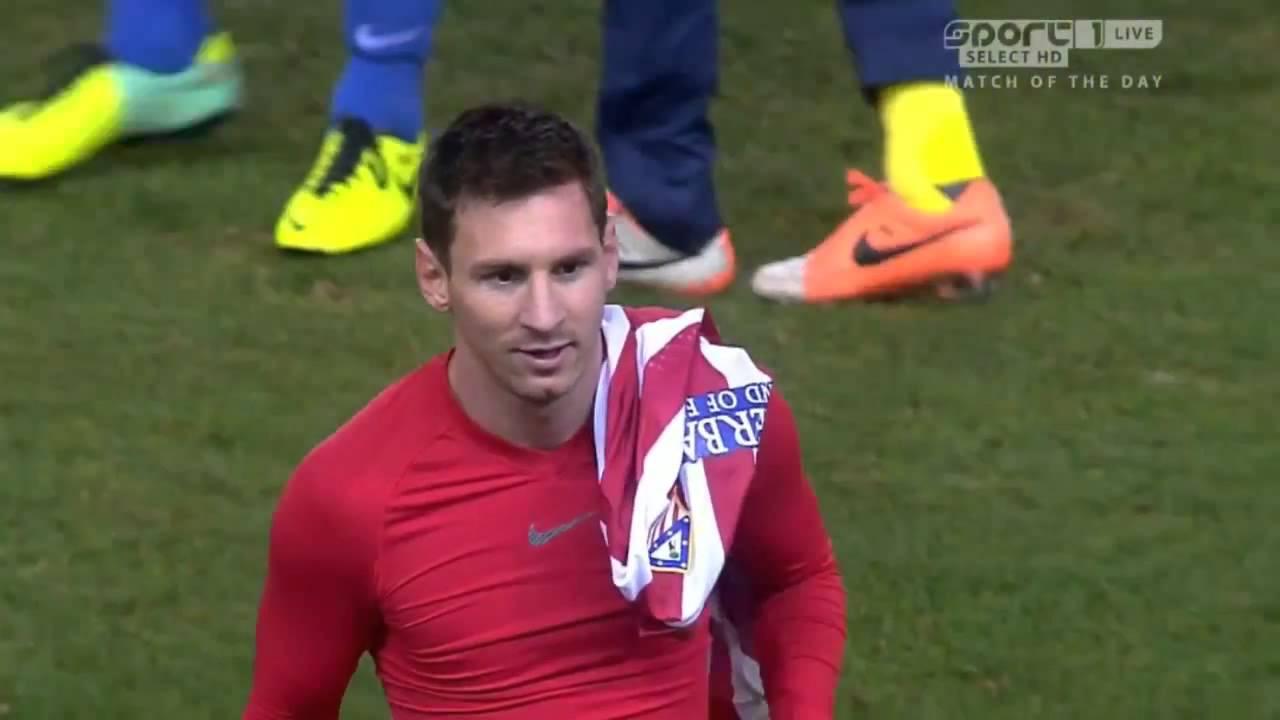 Arda ve Messi forma değiştirdi