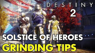 Solstice of Heroes Grinding Tips for Fast Armor Upgrading   Destiny 2
