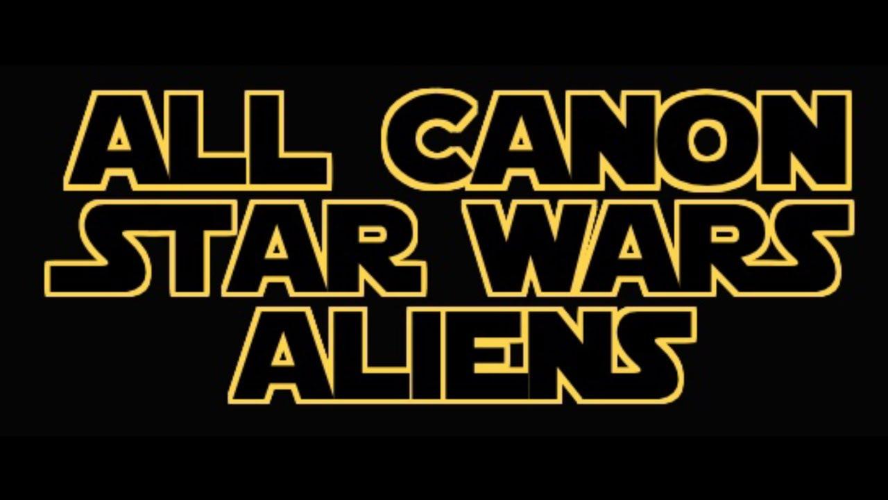 All Canon Star Wars Alien Species