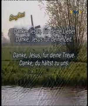 Danke Jesus, sing mit bei Bibel TV