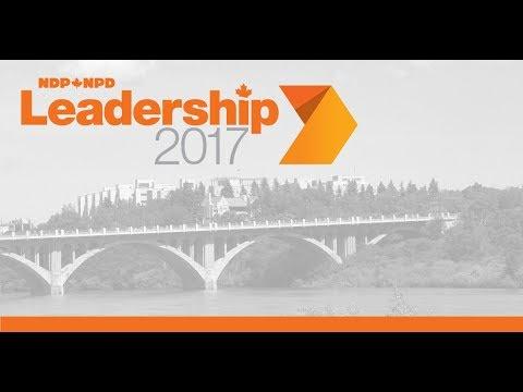 NDP Leadership 2017 Debate - Saskatoon // Débat de la course au leadership du NPD - Saskatoon
