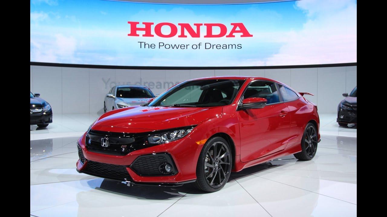 2017 Honda Civic Si First Look