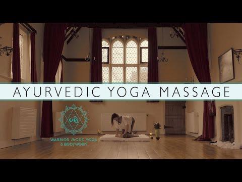 Warrior Mode Yoga // Ayurvedic Yoga Massage