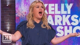 Kelly Clarkson Reacts To Talk Show Ratings