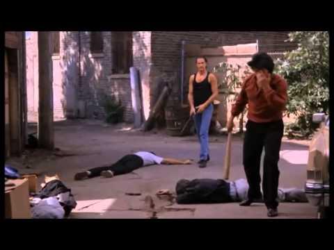 Steven Seagal : Fight scene Above the Law  (Baseball bat scene)