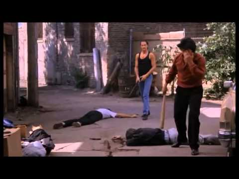 Steven Seagal Fight Scene Above The Law Baseball Bat