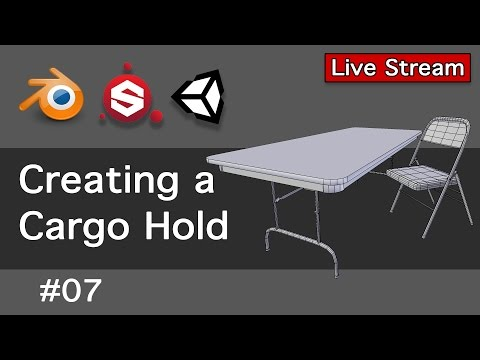 Creating a Cargo Hold 07-Live Stream