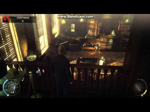 Hitman absolution Challenges-Skurky's Law(Courthouse) : Suit Only and Infiltrator