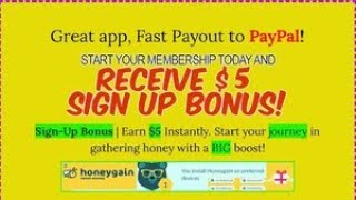 Get 5$ NOW! Earn Money App - Honeygain ! Payout Proof| Passive Income