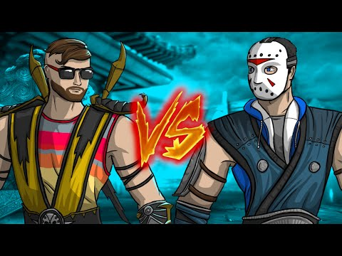 Moo vs Delirious - Serial Killer Battle! (MKX Test Your Luck)