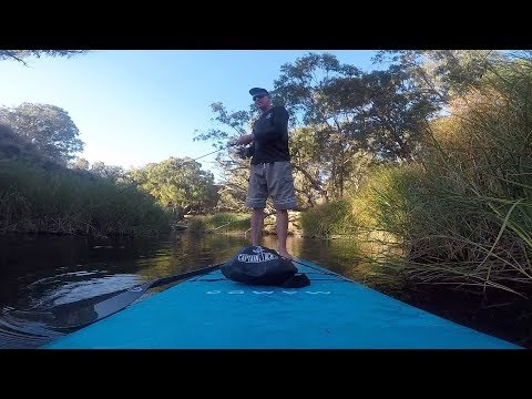 SUP River Fishing Adventure Western Australia