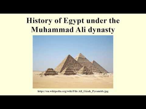 History of Egypt under the Muhammad Ali dynasty