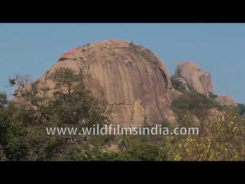 Ramanagara Hills in Karnataka : where the movie Sholay was shot