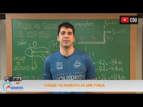 Física - Aula 20 - Torque ou Momento de uma Força