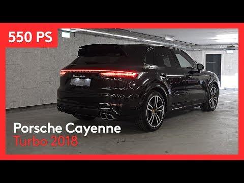 Porsche Cayenne Turbo 2018