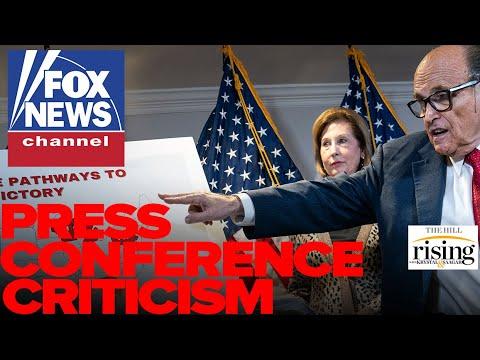 Krystal and Saagar: Tucker Carlson, Fox News TRASH Giuliani Press Conference