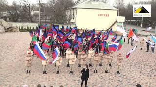 Горловка отметила седьмую годовщину со Дня провозглашения ДНР