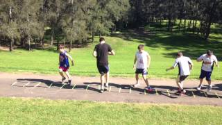 Red Stars Fitness Training Video 3