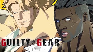 Guilty Gear Strive -  Leo Whitefang And Nagoriyuki Character Reveal Trailer