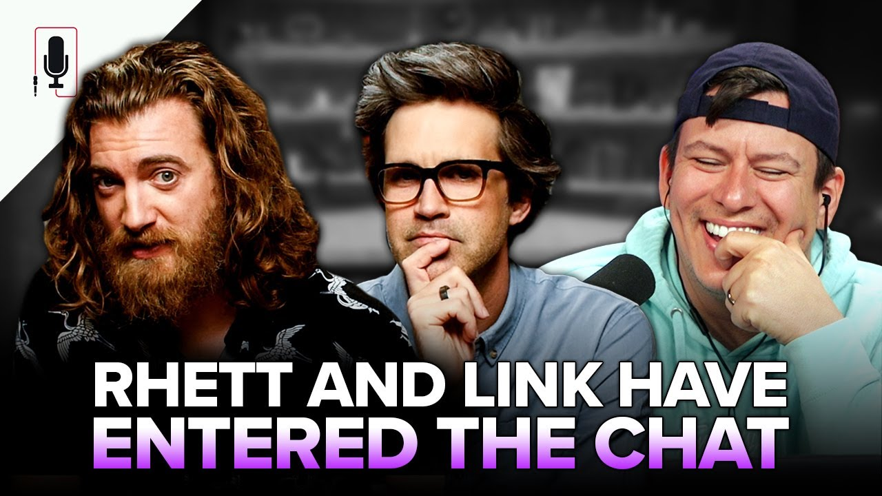Do Rhett and Link Fight?! Talking GMM, Spending $$$, Important Therapy, Religion & Movie Goals Ep 52