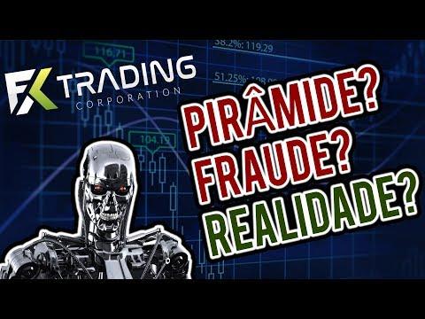 FX Trading Corp é Mais Uma PIRÂMIDE de Forex ou Negócio REAL? (ALERTA)