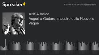 Auguri a Godard, maestro della Nouvelle Vague