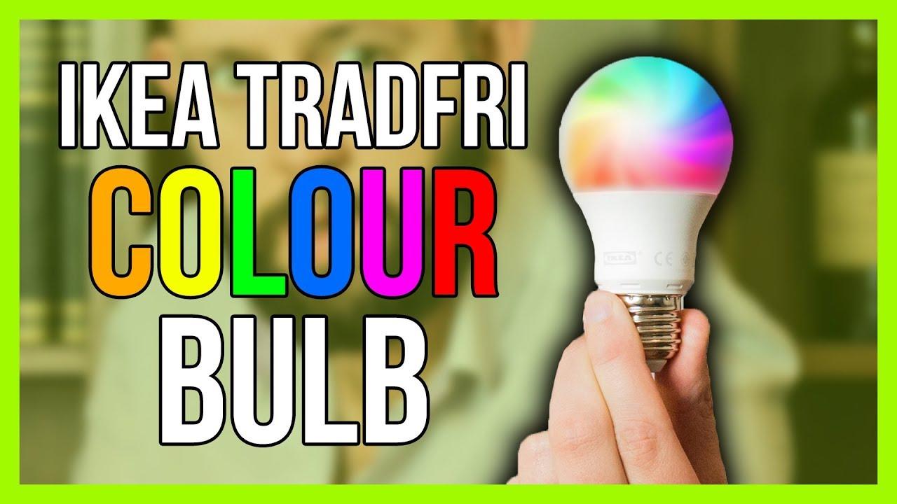 Ikea Tradfri Colour Bulbs Review Youtube - Colores-ikea