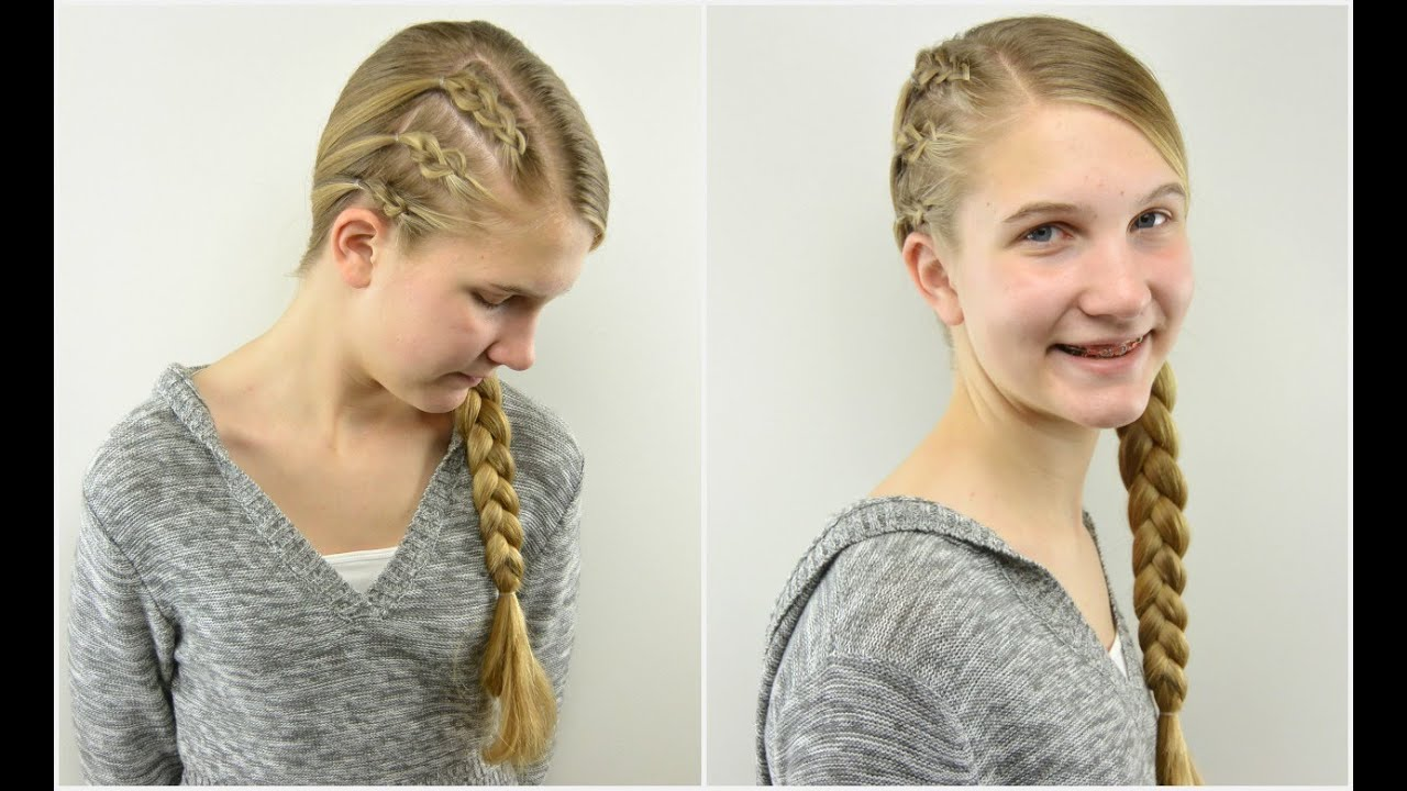 how to braid hair style easy amp edgy braided style teen hairstyle 3889
