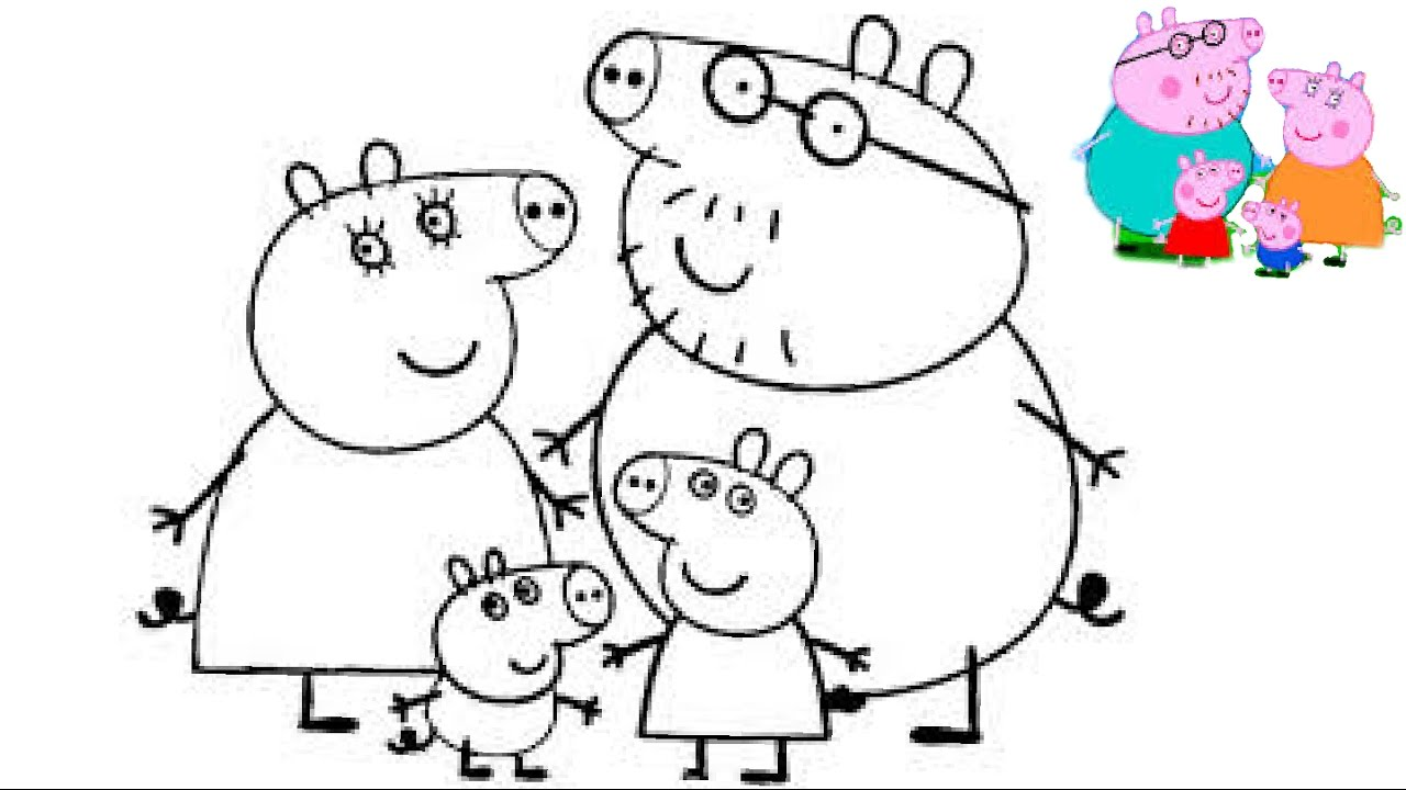 peppa pig coloring book best kids coloring pages kids fun art
