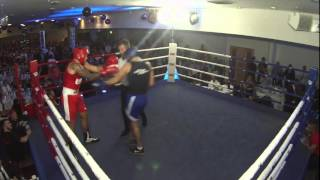 Ultra White Collar Boxing Leicester | Fight 1