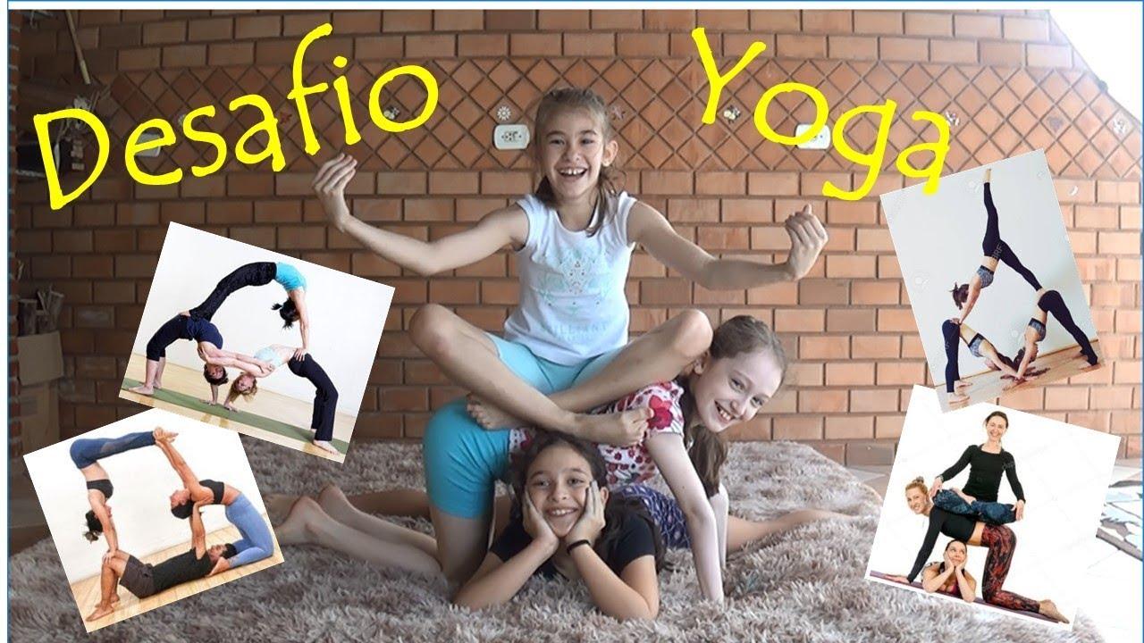 045. Meninas da GR no Desafio Yoga - GR girls in Yoga Challenge